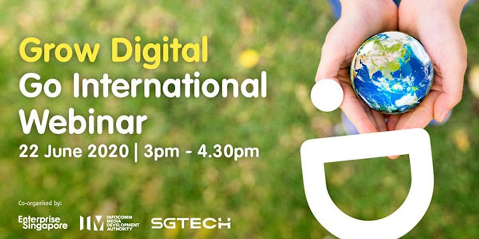 Grow Digital Go International Webinar