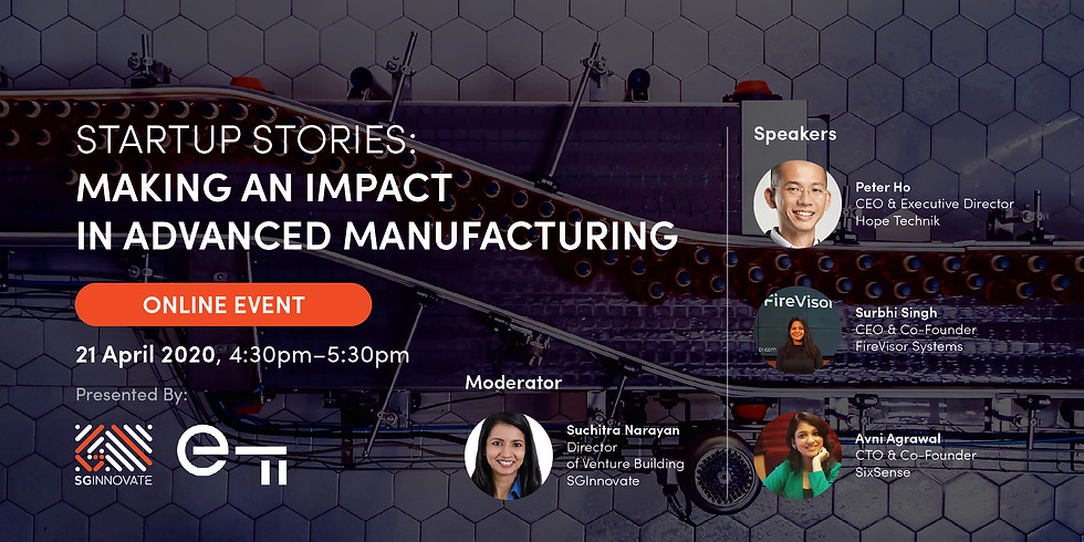 Startup Stories: Making an Impact in Advanced Manufacturing