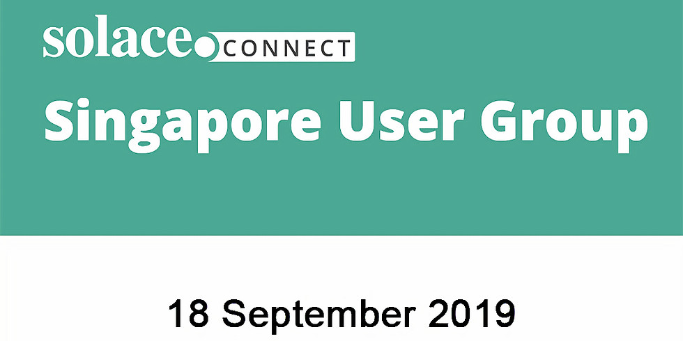 Solace Connect - Singapore User Group