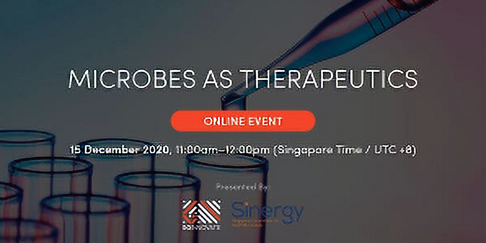 Microbes as Therapeutics
