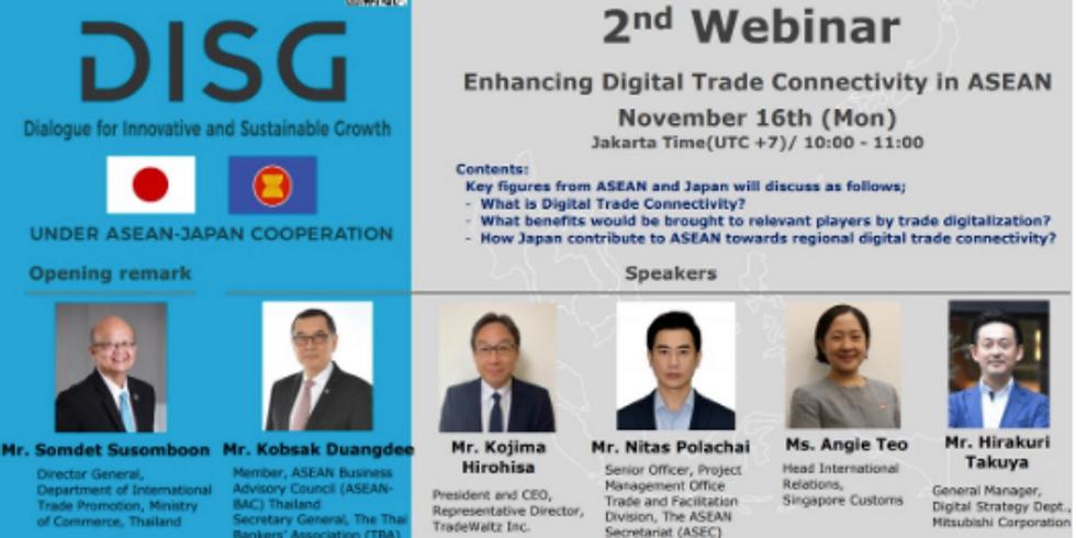Enhancing Digital Trade Connectivity in ASEAN