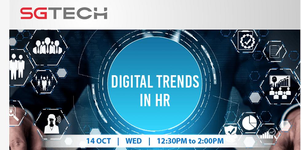 Digital Trends in HR Webinar