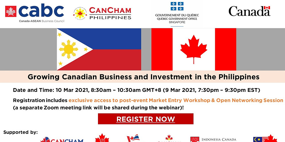 Growing Canadian Business and Investment in the Philippines
