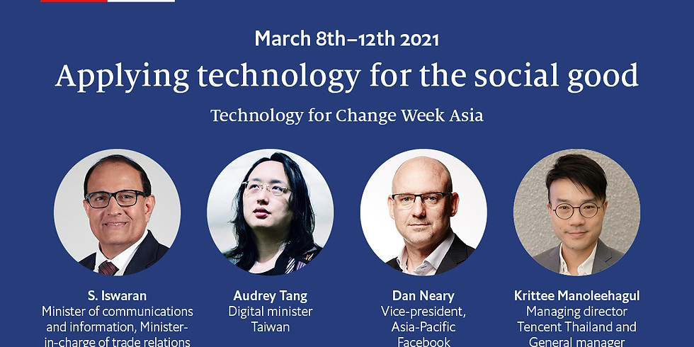 The Economist Technology for Change Week Asia