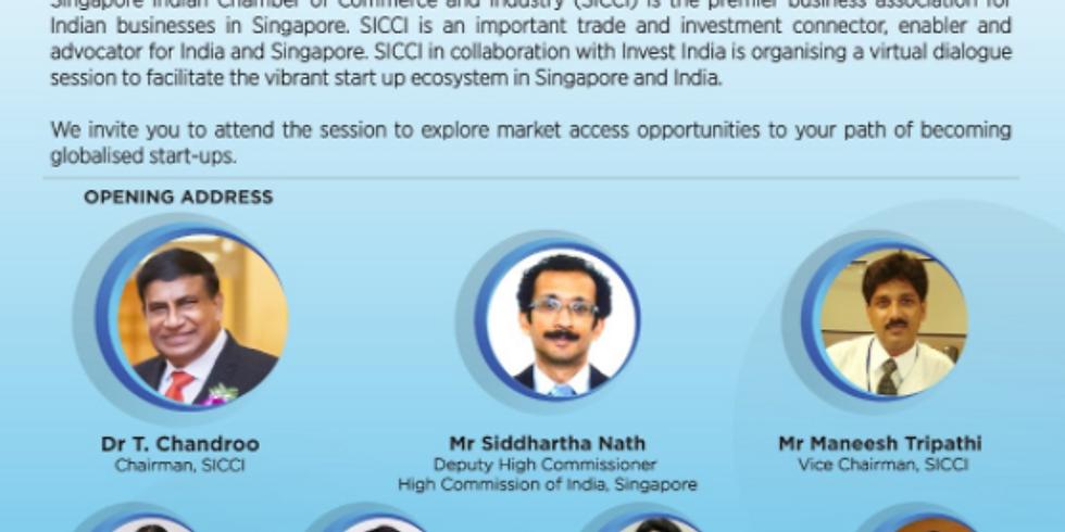 Bridging the Vibrant Singapore-India Startup Ecosystem