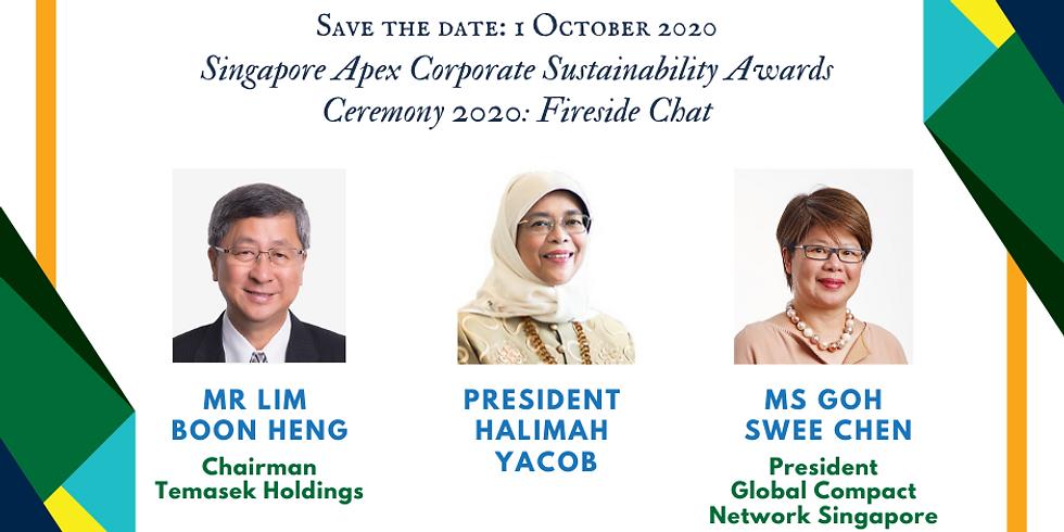 Singapore Apex Corporate Sustainability Awards Ceremony 2020