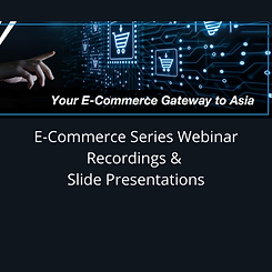 E-Commerce Webinar Series follow up - We