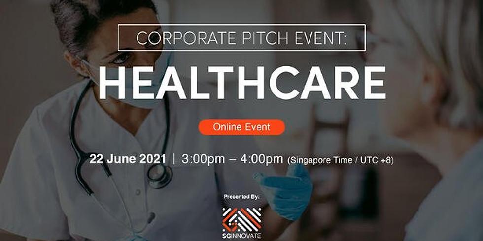 Corporate Pitch Event: Healthcare