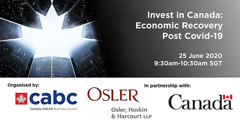 Invest in Canada: Economic Recovery Post-COVID-19