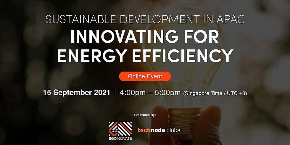 Sustainable Development in APAC - Innovating for Energy Efficiency