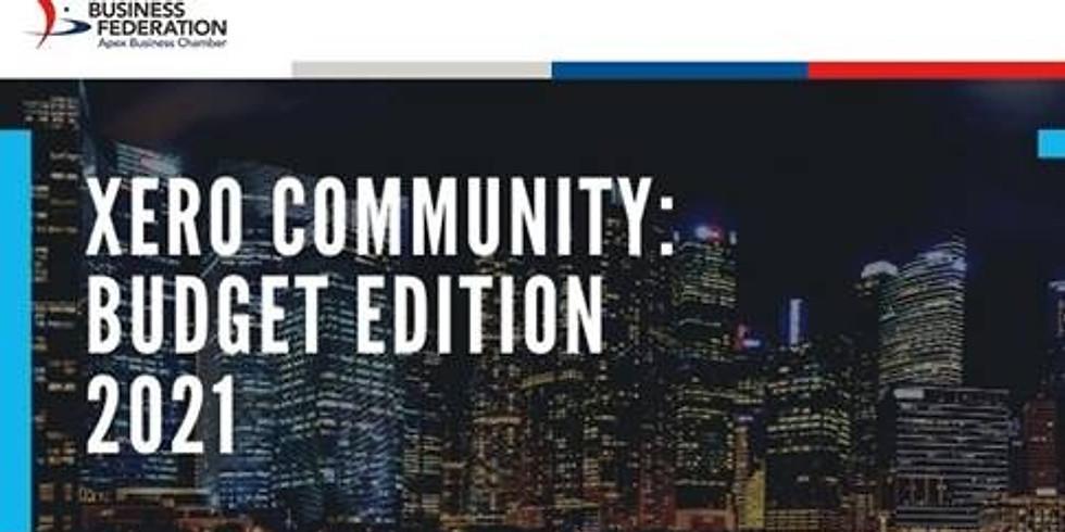 Xero Community: Budget Edition 2021