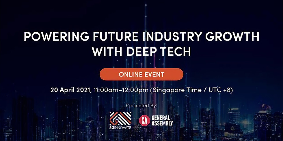 Powering Future Industry Growth with Deep Tech