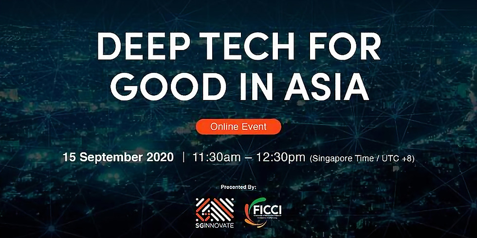 Deep Tech for Good in Asia