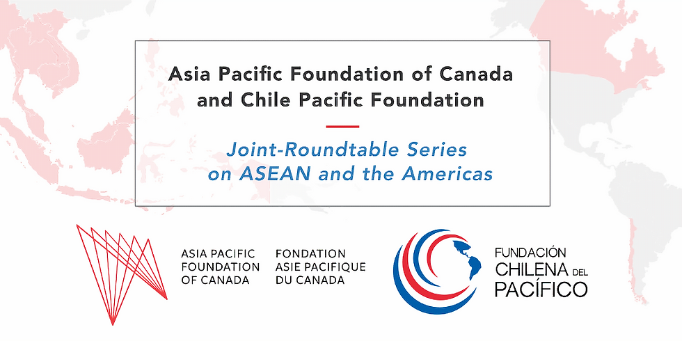 International Governance for Digital Trade: The Future of Digital Trade in Free Trade Agreements - Canada, Chile, ASEAN