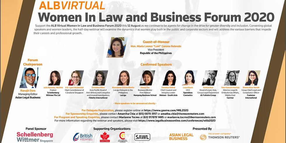 Women in Law and Business Forum 2020