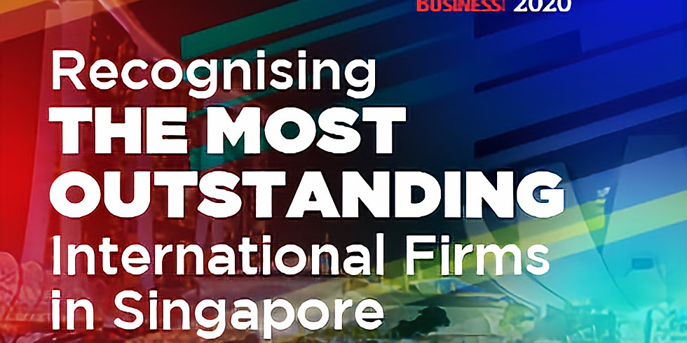 SBR International Business Awards 2020