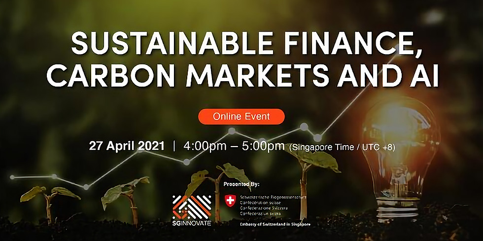 Sustainable Finance, Carbon Markets and AI
