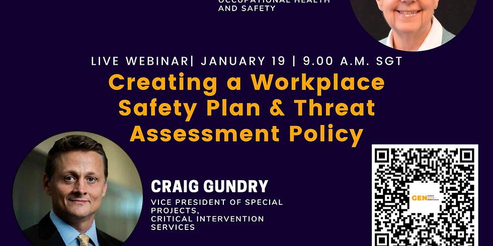GenSafe Workplaces - Specialist Webinar - Workplace Safety