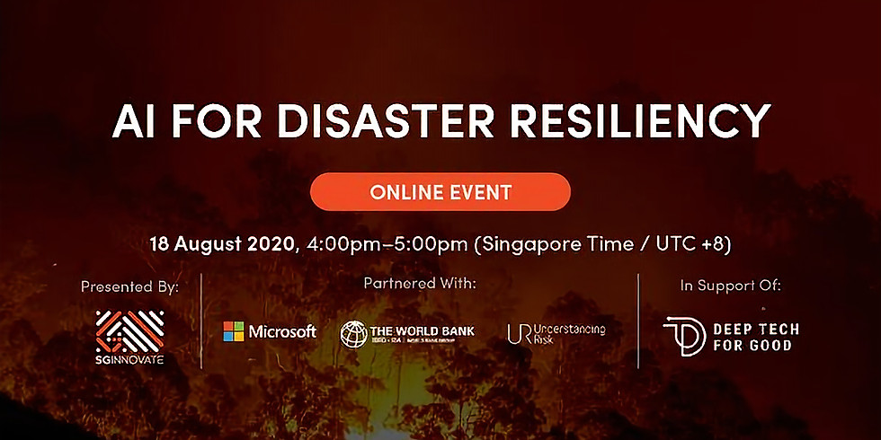 AI For Disaster Resiliency