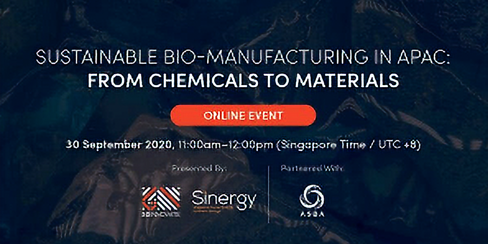 Sustainable Bio-Manufacturing in APAC: From Chemicals to Materials