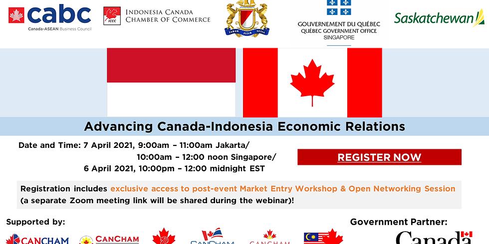 Advancing Canada-Indonesia Economic Relations