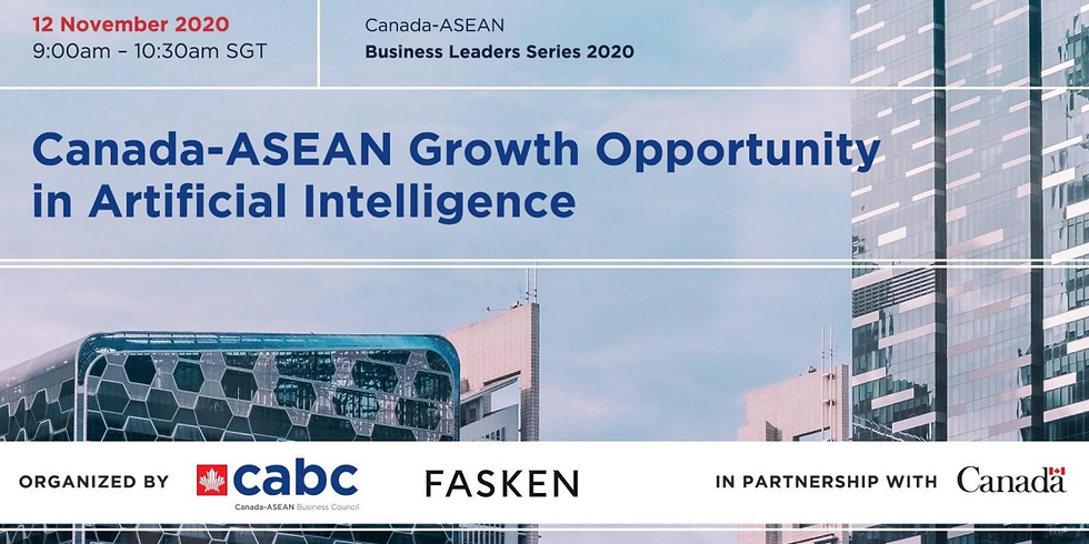 Canada-ASEAN Growth Opportunity in Artificial Intelligence