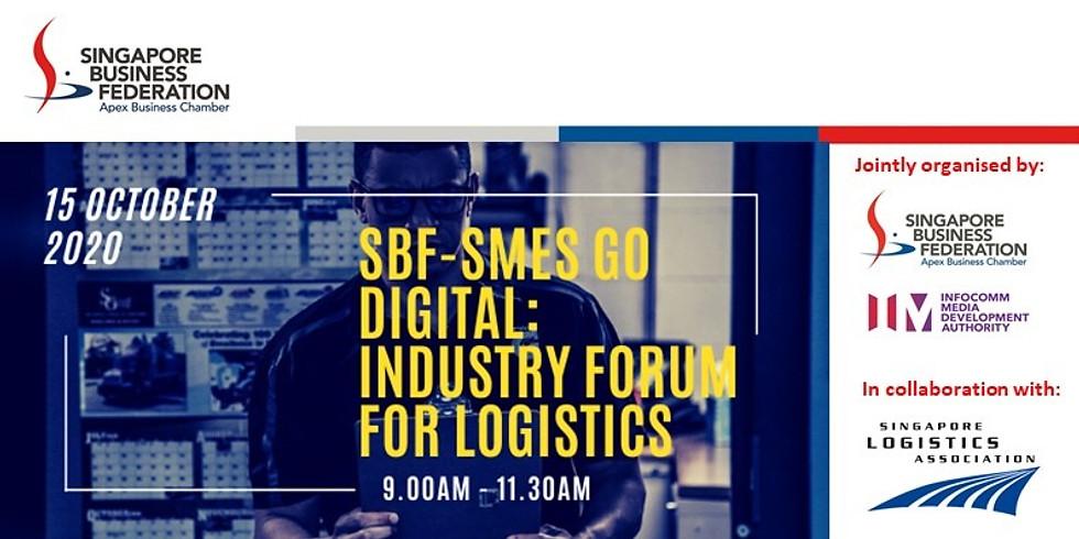 SBF-SMEs Go Digital: Industry Forum for Logistics