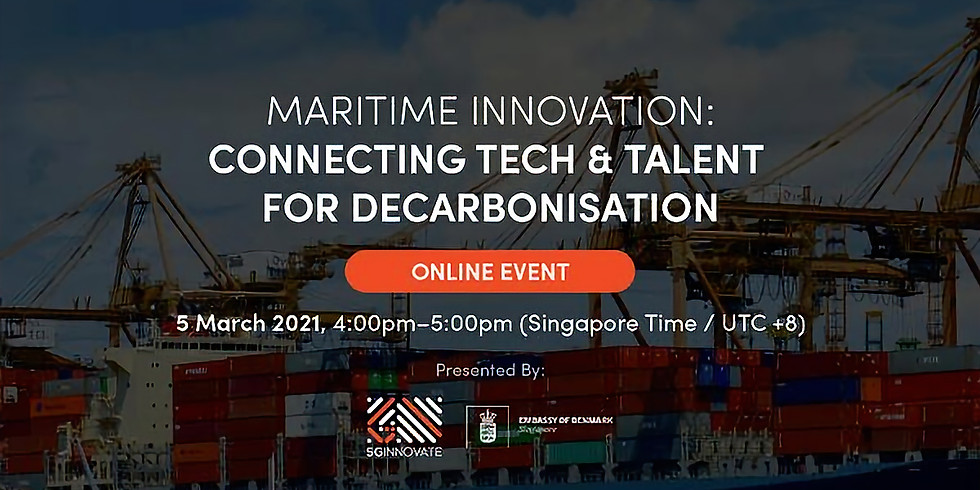 Maritime Innovation: Connection Tech & Talent For Decarbonisation