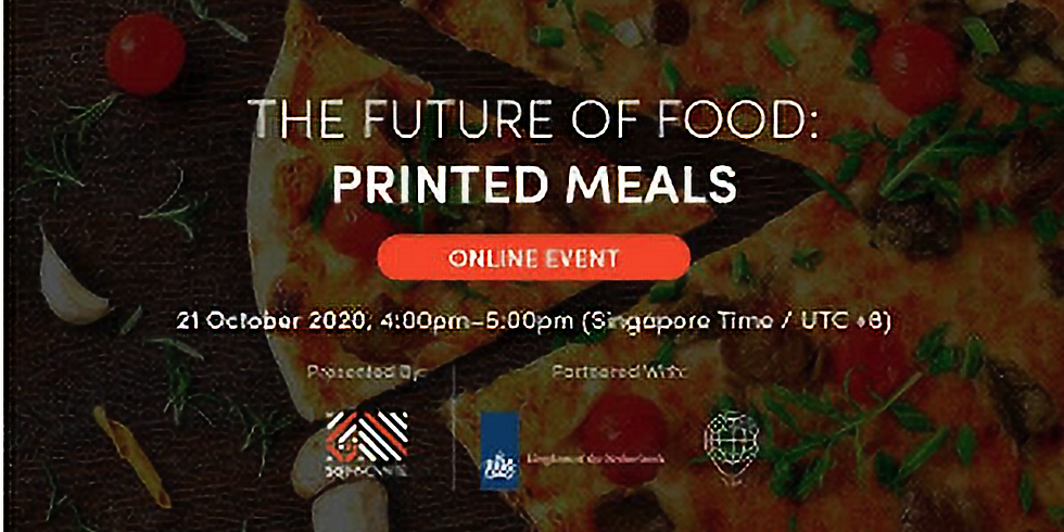 The Future of Food: Printed Meals