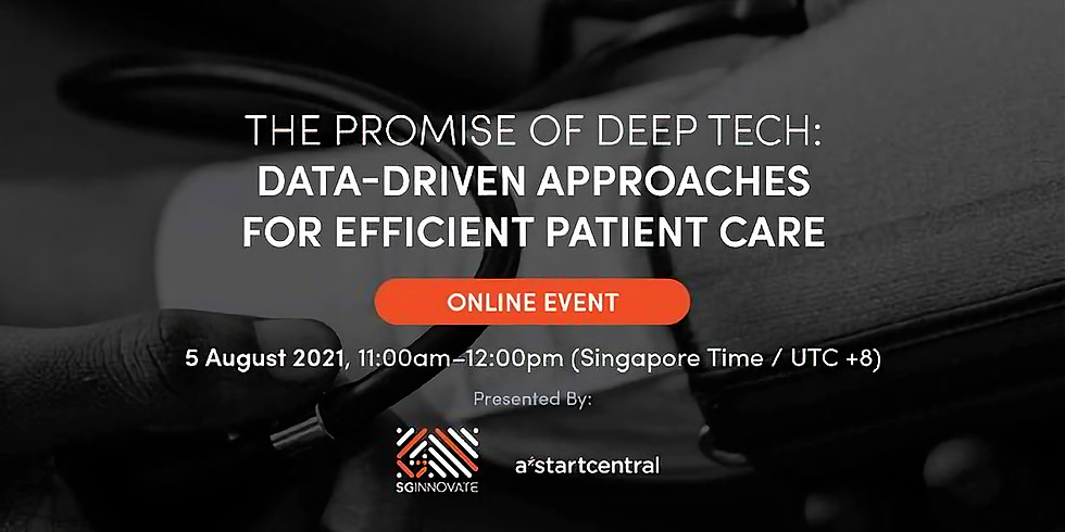 The Promise of Deep Tech: Data-Driven Approaches for Efficient Patient Care