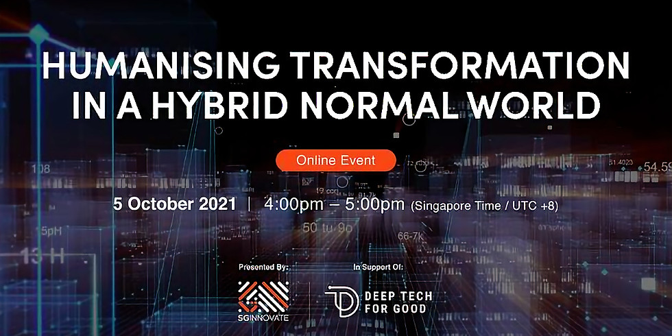 Humanising Transformation in a Hybrid Normal World