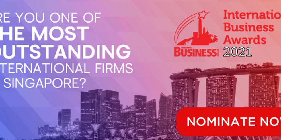 Singapore Business Review's International Business Awards 2021