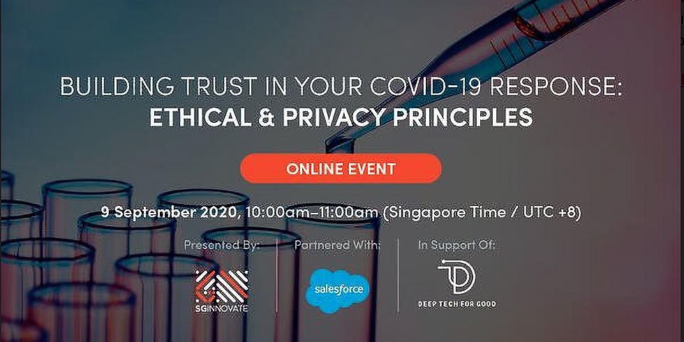 Building Trust in Your COVID-19 Response: Ethical and Privacy Principles
