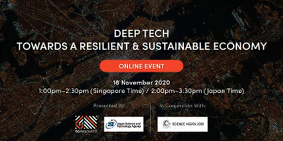 Deep Tech Towards a Resilient and Sustainable Economy