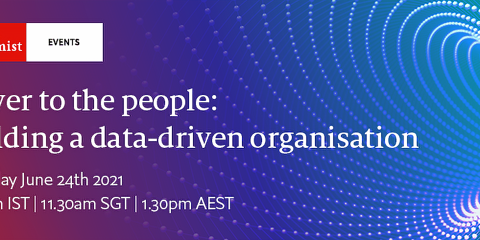 Power to the people: building a data-driven organisation