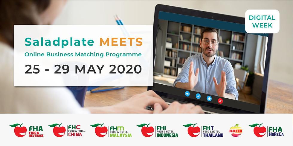 Saladplate Meets - Online Business Matching Programme
