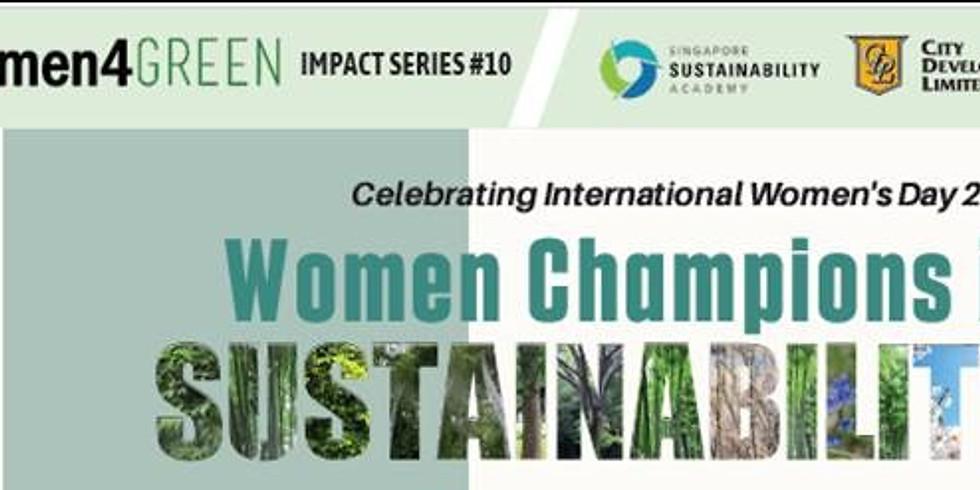 Women Champions in Sustainability