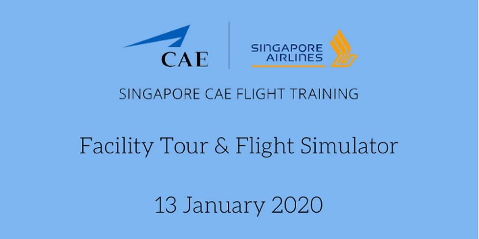 Singapore CAE Flight Training Facility Tour & Simulator