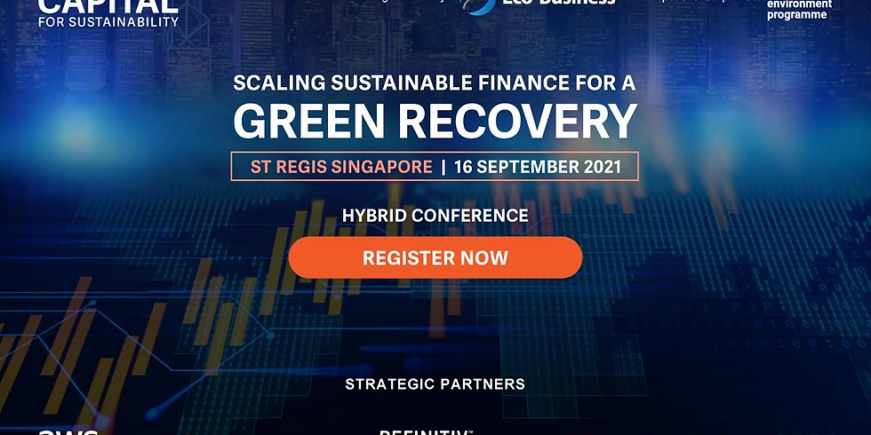 Scaling sustainable finance for a green recovery