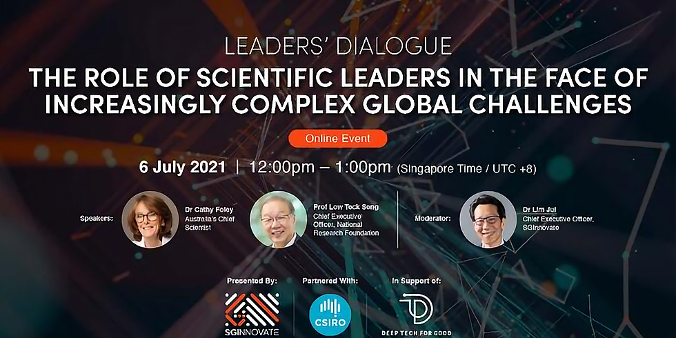 The Role of Scientific Leaders in the Face of Increasingly Complex Global Challenges