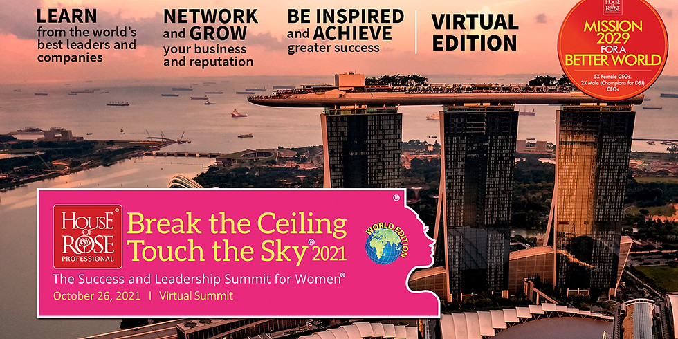 2021 World Edition of Break the Ceiling Touch the Sky