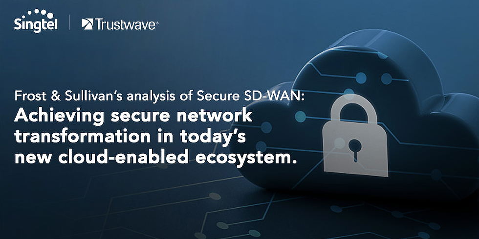 Achieving secure network transformation in today's new cloud-enabled ecosystem