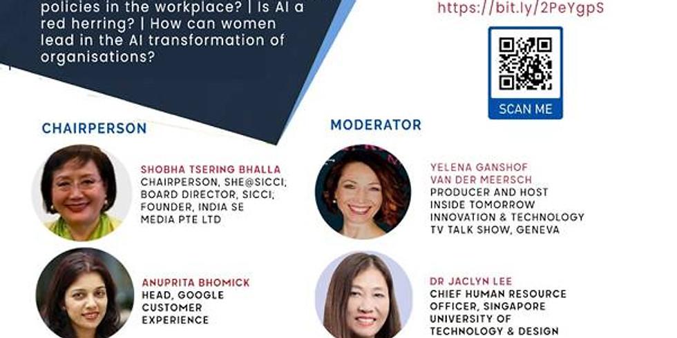 Celebrating Women: AI & Women in Tech, 11 March 2021