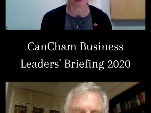 Virtual CanCham AGM 2020 & Business Leaders' Briefing