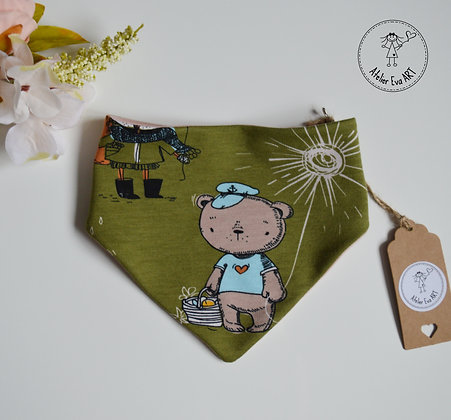 Baby bandana bib / different fabric options