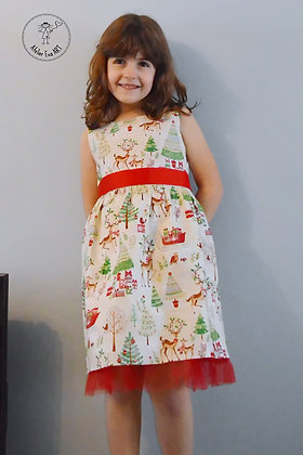 Christmas Party Dress/other fabric prints available