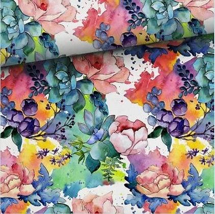 """""""Watercolour flowers"""" hoodie"""