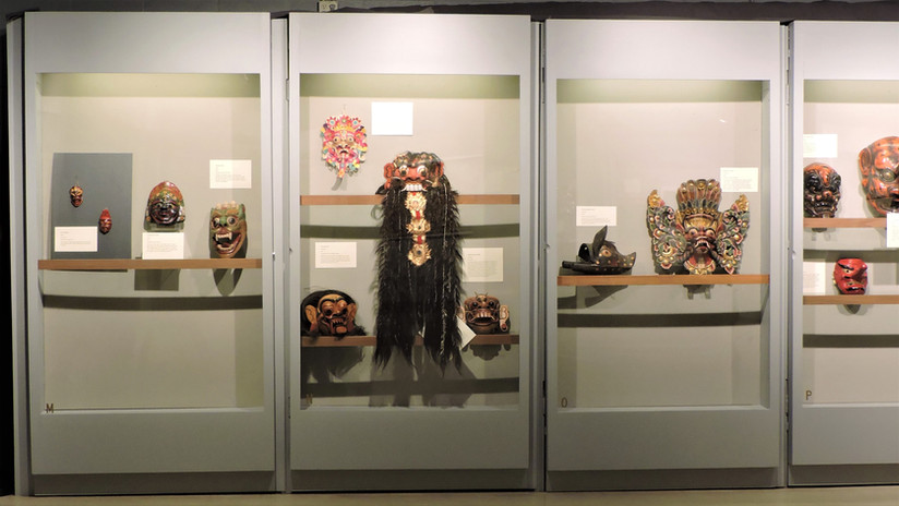 Gods and Monsters Exhibit