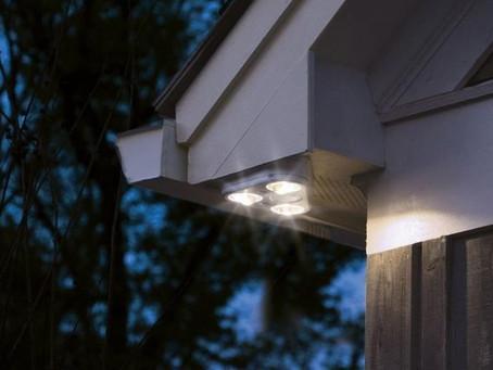 Is Your Home Too Dark? Security Lighting Tips