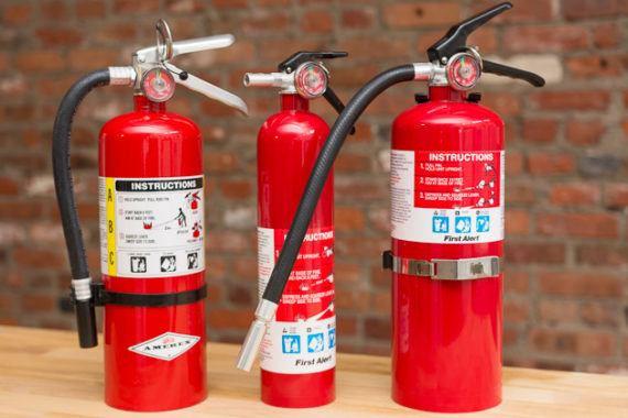 Fire Extinguishers & Emergency Lighting